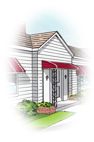Awnings Illustration