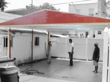 awning car port